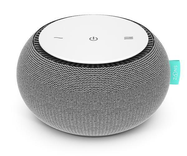 SNOOZ White Noise Sound Machine - Real Fan Inside for Non-Lo