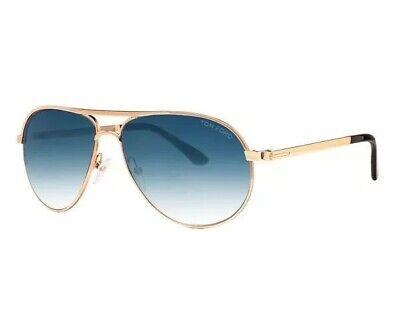 Tom Ford Sunglasses Marko TF 144 Gold Blue Gradient Men 28W James Bond (Tom Ford James)