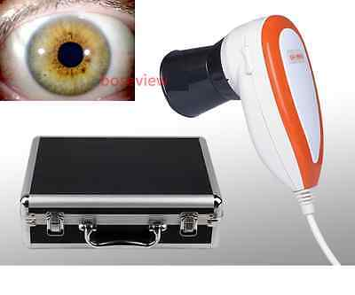 Pro 5.0 MP USB Iriscope Eye Iridology Camera Iirs Analyzer &Iris Software-CE FCC