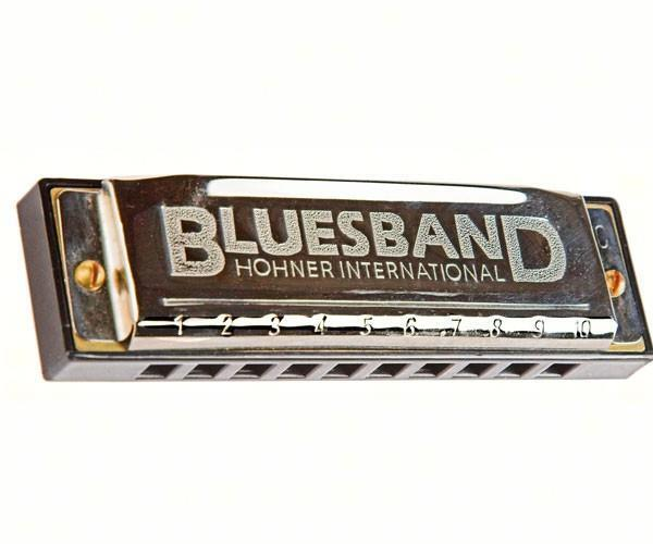 Hohner Classic BLUES BAND HARMONICA, Key of C, Instructions included     #dm
