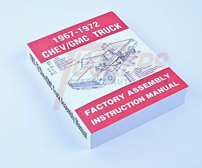 67 68 69 70 71 72 Chevy C10 Truck Factory Assembly Manual Restoration Guide  ()