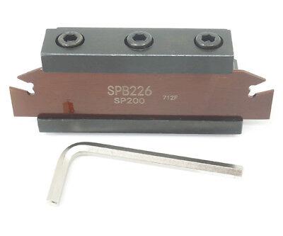 3 Spb226 Spb26-2mm Grooving Parting Blade Smbb2026 Cut Off Block Tool Holder