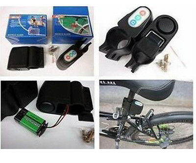 Bicycle Bike Motion Sensor Anti Theft Security Alarm Warning Annunciator Lock