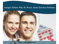 Aurogra Pro White Tablets: Why To Worry About Erection Problems