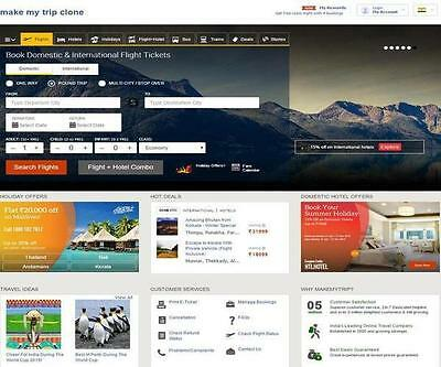 Best Automated Flights Hotel Travel Website For Sale   Free Hosting