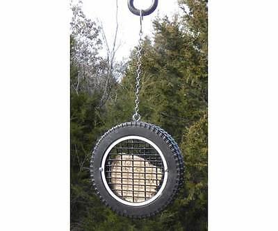 Bird Feeder Wilbur's Woodpecker Wheel Tire Suet Birdfeeder