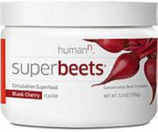 Super Beets   HumanN Black Cherry Flavored - exp 12-2021