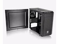 New Thermaltake Versa H15 M-ATX Gaming Case No Side Window USB3 Black Interior (can deliver)