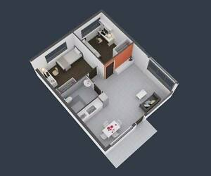 2-bedroom apartment at University of Canberra Village, used for sale  Bruce