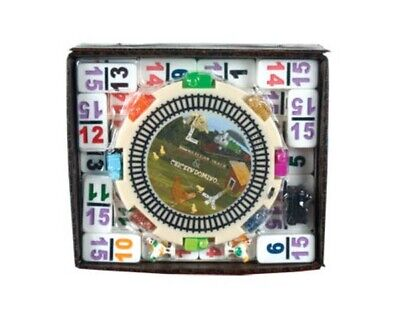 Dominoes Double 15 Color Number Mexican Train & Chicken Domino Professional Size - Mexican Train Number