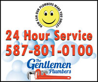 The Gentlemen Plumbers - How can our plumbers make you smile?