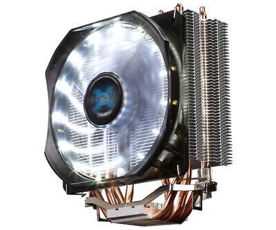 ZALMAN CNPS9X OPTIMA CPU Heatsink COOLER WHITE LED FAN Intel