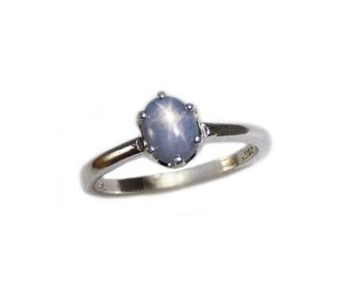 Blue Star Sapphire Ring Antique 19thC Gem Ancient Persia Sorcery Oracle Prophet