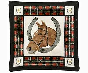 Spice-Filled-Horse-Mug-Mat-for-Tea-or-Coffee-Aromatic-Spice-Scent
