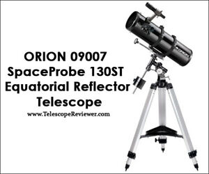 Orion 09007 SpaceProbe 130ST Equatorial Reflector Telescope (Bla
