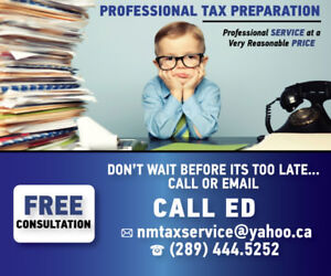 **** TAXES ****  ... let me help you get your returns done