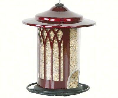 Bird Feeder Garden arch Jolly Pop Red Made in USA Heavy Duty Rust Resistant 3720