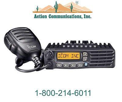New Icom Ic-f6220d-11 Uhf 400-470 Mhz 45 Watt 128 Channel Two Way Radio