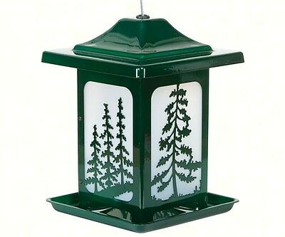 Bird Feeder Woodland Pines Made in USA Heavy Duty Rust Resistant 4638