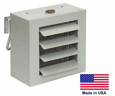 Unit Heater - Steam Hot Water Commercial - Fan Forced - 33000 Btu - 115 Volt