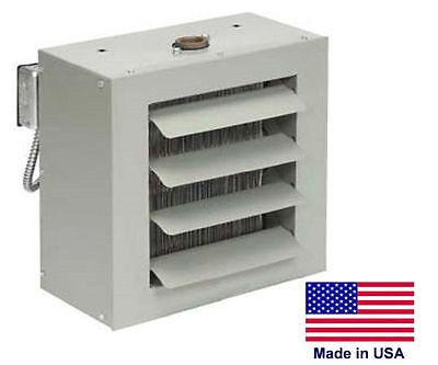 Unit Heater - Steam Hot Water Commercial - Fan Forced - 33000 Btu - 115 Volt