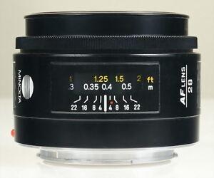 Minolta MAXXUM AF 28mm f/2.8 Wide-Angle