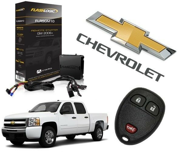 2007-2013 Chevy Silverado Plug & Play Remote Start System GM Sierra 3X Lock GM10