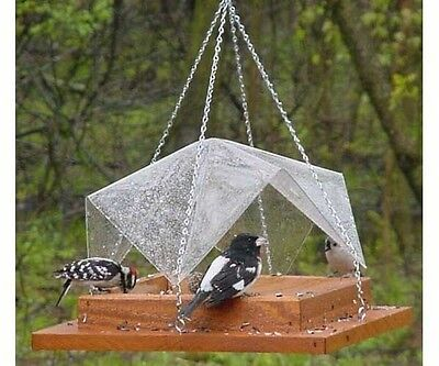 Bird Feeder 12x12 Super Tray with Cover Songbird Essentials