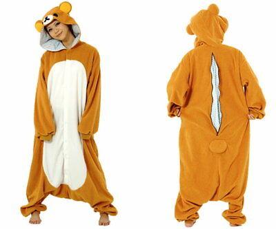 JAPANESE authentic san-x sazac Rilakkuma kigurumi costume fleece - Rilakkuma Kigurumi Kostüm
