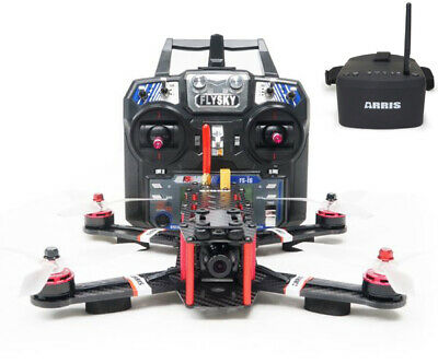 ARRIS X-Speed 250B 250mm Quadcopter Racer FPV Racing Drone RTF W FPV Goggles