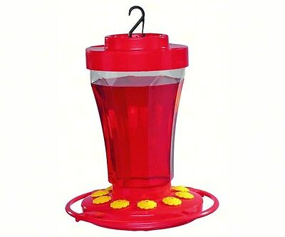 FIRST NATURE 32 oz HUMMINGBIRD FLOWER FEEDER, #3090, Made in the USA