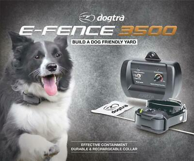 D Fence 2 (Dogtra E Fence 3500 Rechargeable In Ground 2 Dog Containment System 1 Acre)