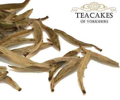 White Loose Leaf Tea Two Doves Silver Needle Best Quality Caddy Gift