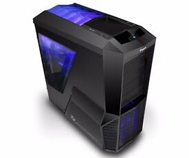 High Speed Gaming PC - 4K Ready - Quad Core 4.0ghz Desktop Computer