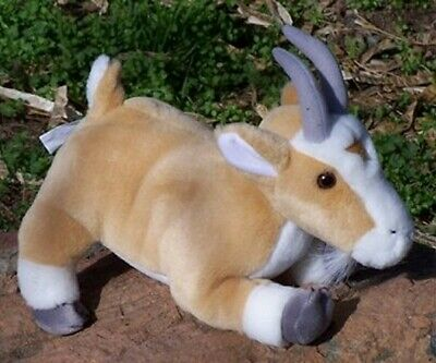 Soft Plush Stuffed Ark Goat Stuffed Animal, Brand New, 11 Inches Long](Goat Stuffed Animal)