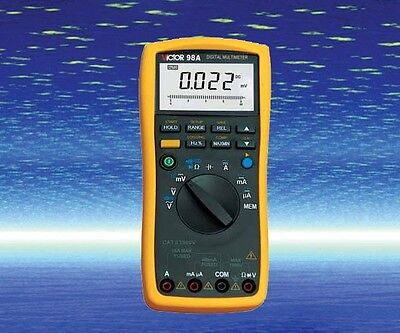 Digital Multimeter Thermocouple K Rtd Pt100 Dc Ac Va Ohm Cap. Freq. Measure Usb
