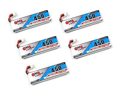5pcs x Kingkong 1S 3.7V 450mAh Li-Polymer battery for Tiny7 RC FPV Racing drone