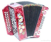 Accordion NEW button Accordion by Tulskaya