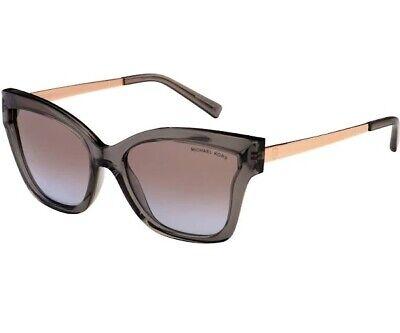 MICHAEL KORS MK2072 329994 Barbados Grey Injt Brown Purple 56 Women's Sunglasses