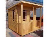 Reann Summerhouse 8ft x 8ft 19mm Log Exterior