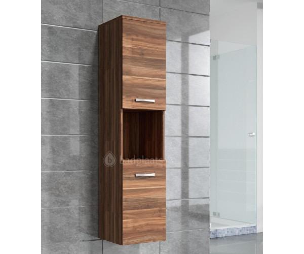 Badkamer kast houten kast badkamerkast hoog Montreal zijkast ...