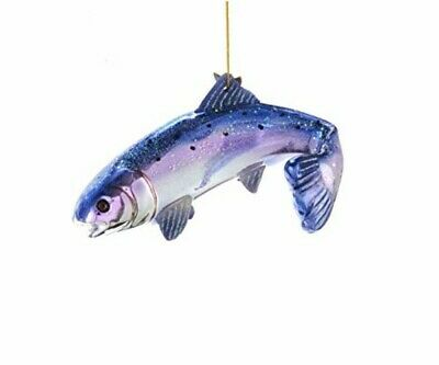 Kurt Adler (NB1490) Noble Gems™ Glass Salmon Ornament