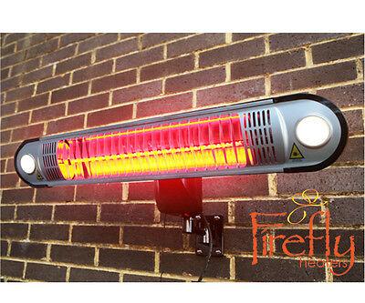 Chauffage Extérieur Électrique Parasol Chauffant Infrarouge Terrasse Éclairage