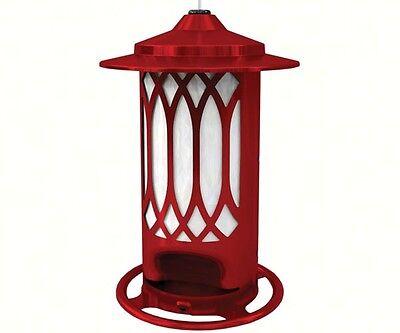 Bird Feeder Lattice feeder Jolly Red Made in USA Heavy Duty Rust Resistant 4792
