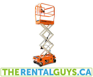 Scissor Lift Rentals Free Delivery&pickup in Guelph