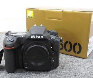 Used Nikon D500 in great condition with extra battery & XQD Card