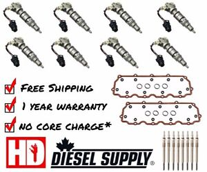 2003-2007 Ford Powerstroke 6.0L Remanufactured MAX Injector Kit