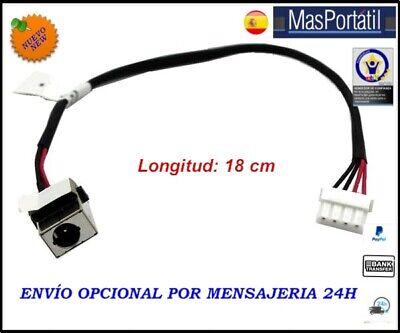 CONECTOR ALIMENTACION+CABLE/DC JACK ACER ASPIRE E1-772 E1-772G PJ330