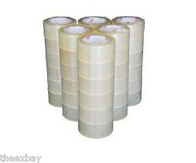 6 Rolls Carton Sealing Clear Packing Shipping Box Tape 2