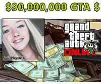 $90,000,000 Million GTA 5 Dollars Plus LSPD Police Outfit
